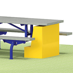 ADA Accessibility Compliance - T600 Series Tables