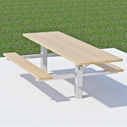 End Accessible Twin Pedestal Picnic Table - TPT Series