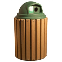 TRH Series - Trash and Recycling Receptacles