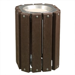 Square Ash Receptacle - TRQ Series
