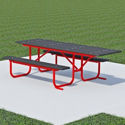 UT and UTH Series End Accessible Picnic Table - Using Recycled Plastic