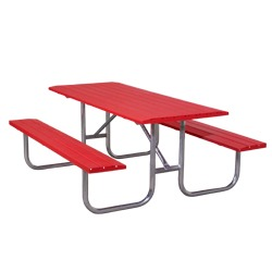 UT Series Picnic Table - Using Formed Steel Channel