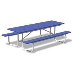 UT Series Picnic Table - Using Recycled Plastic