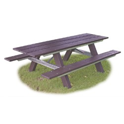 Snow Load/Extreme Load Traditional A-Frame Picnic Table - WAT Series