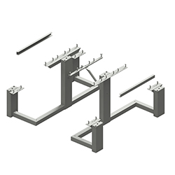 WPTS-6 Picnic Table Frame Kit