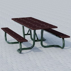 WXT and WXTH Accessible Picnic Table - Using Recycled Plastic