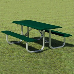 XT Series Picnic Table - Using Formed Steel Channel