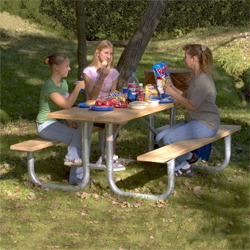 XT Series Picnic Table - Using Lumber