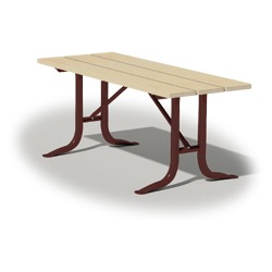 XTX Series Utility Table - Using Lumber