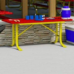 XTX Series Utility Table - Using Recycled Plastic