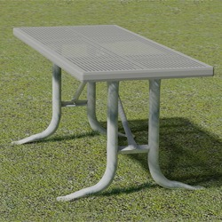 XTX Series Utility Table - Using Perforated Steel